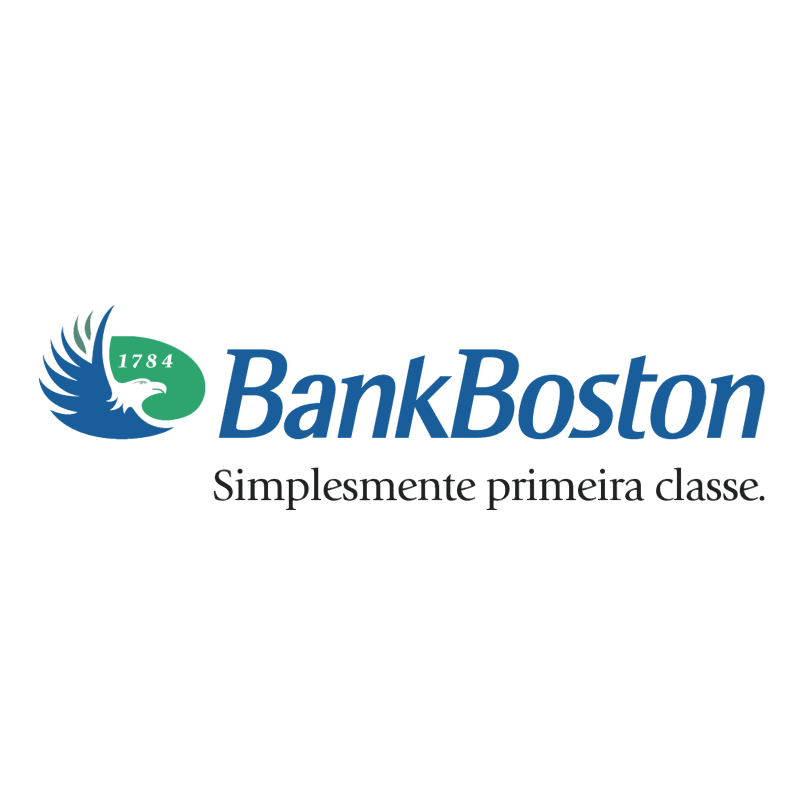 Bank Boston vector