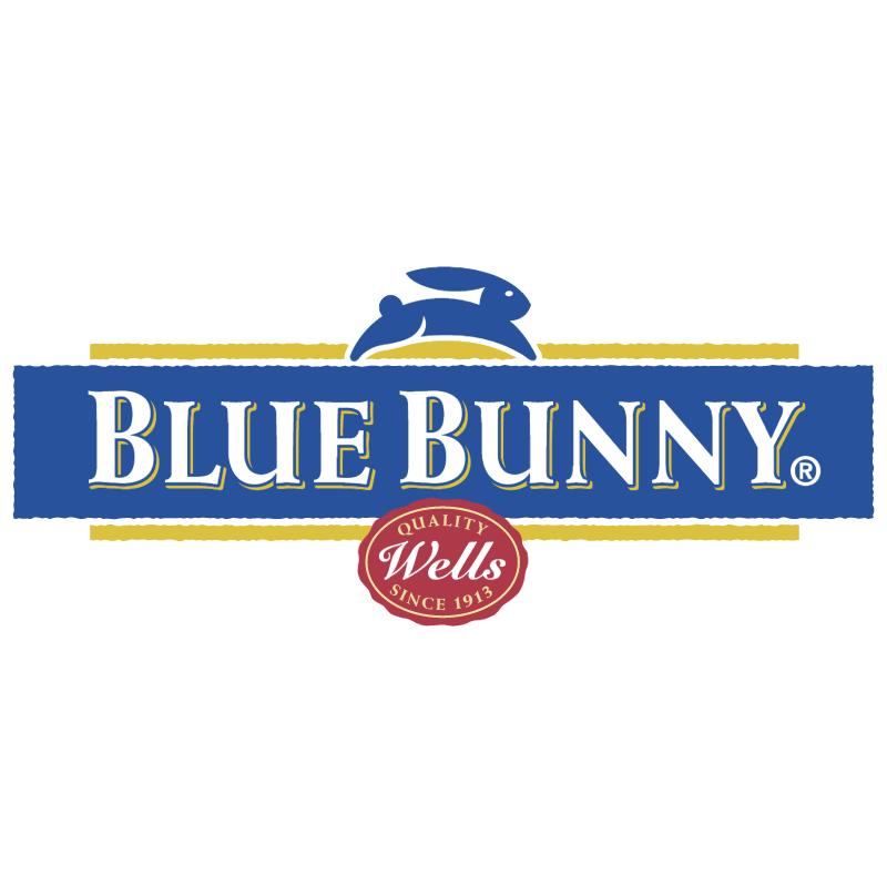 Blue Bunny 30974 vector
