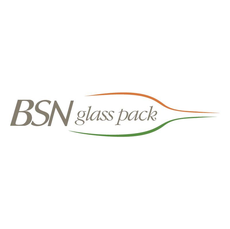 BSN Glass pack 79567 vector logo