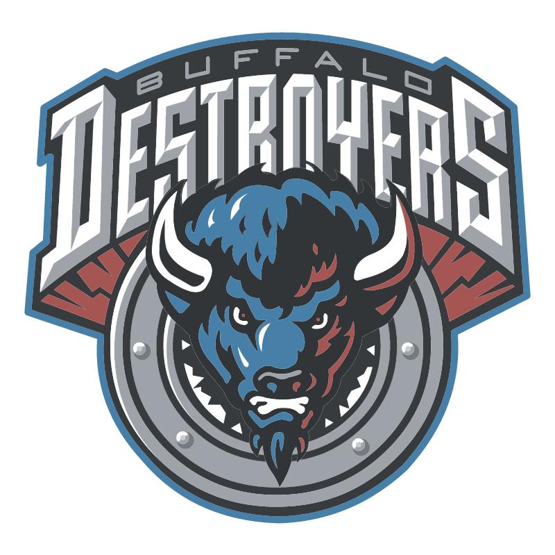 Buffalo Destroyers 43116 vector