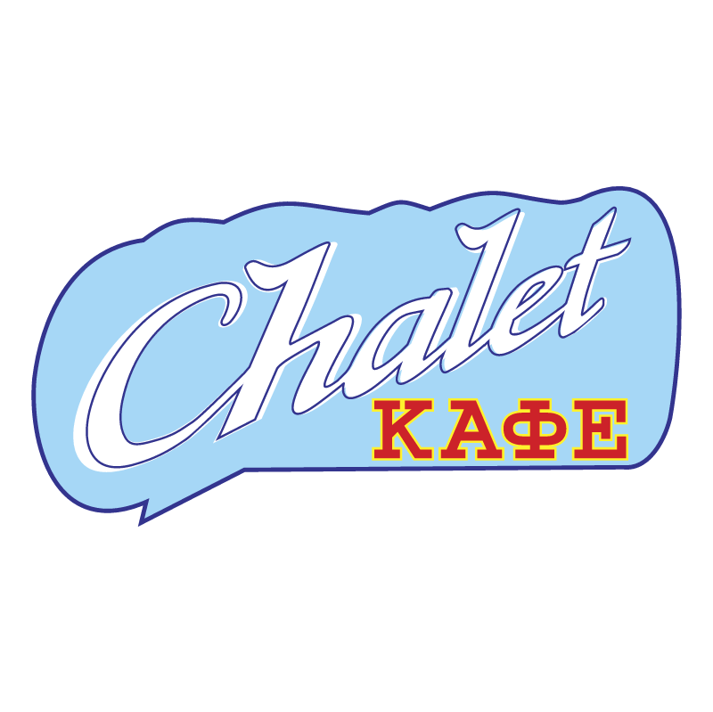 Chalet Cafe vector
