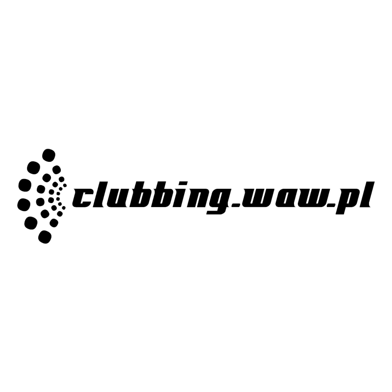 Clubbing waw pl vector