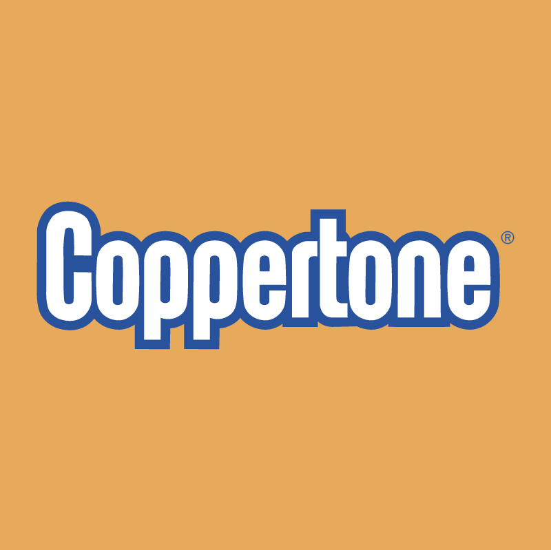 Coppertone vector