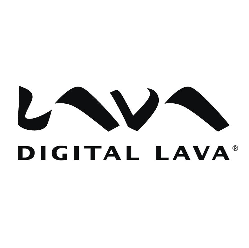 Digital Lava vector