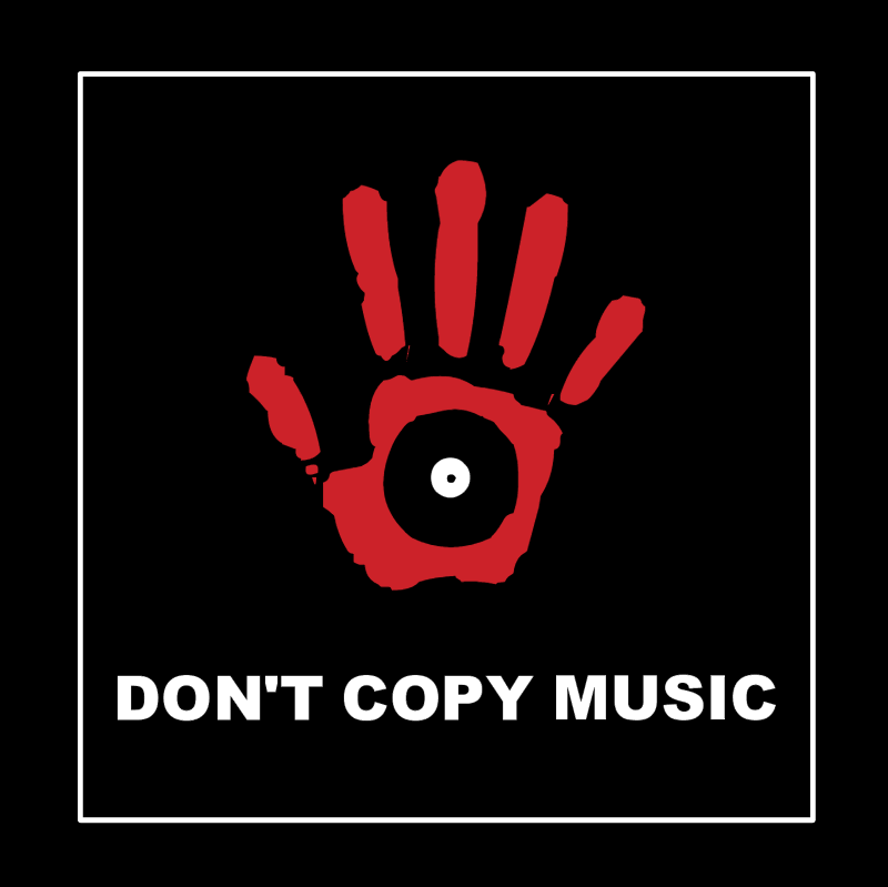 Don't Copy Music vector