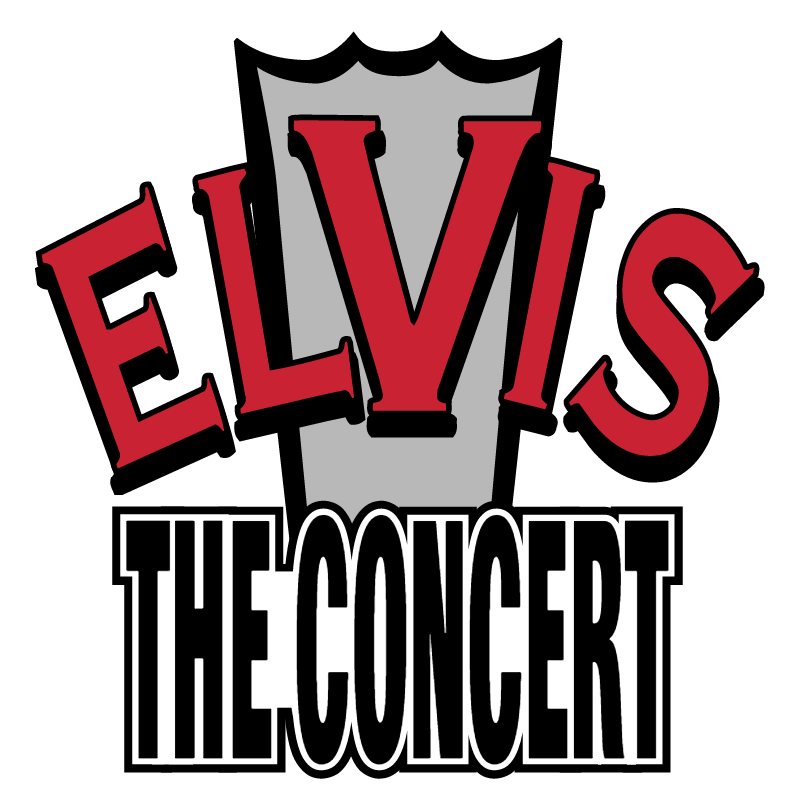 Elvis The Concert vector