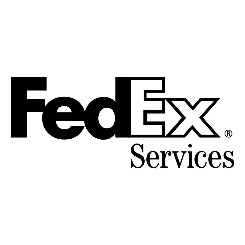 FedEx Services vector logo