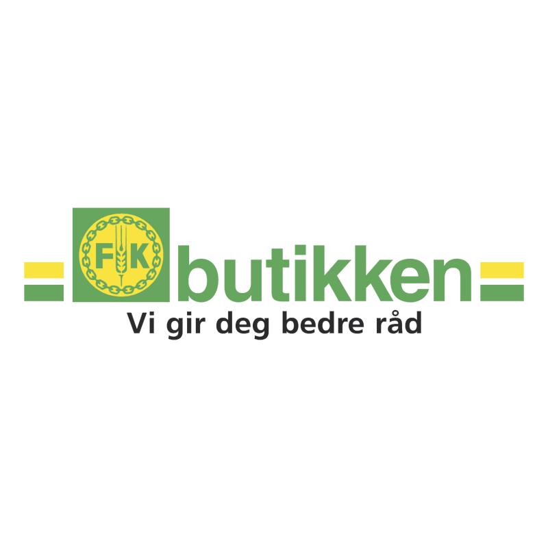 FK Butikken vector