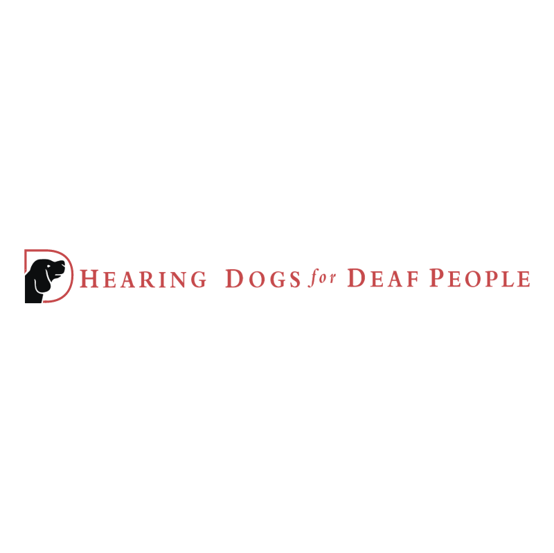 Hearing Dogs for Deaf People vector