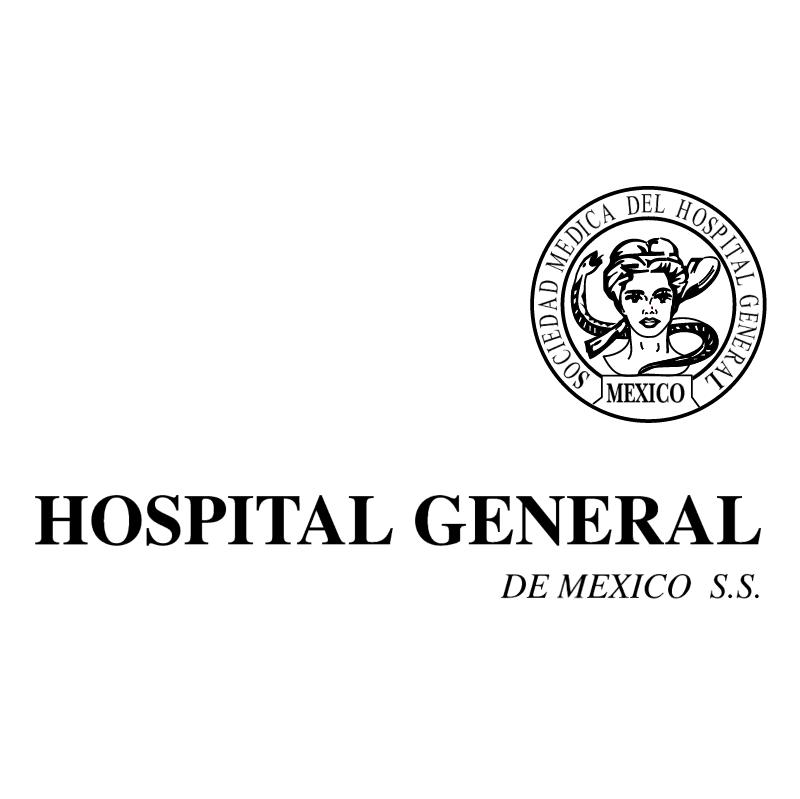 Hospital General de Mexico vector