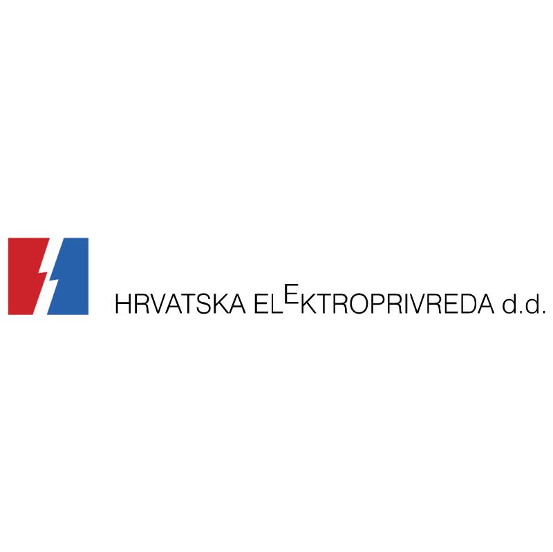 Hrvatska Elektroprivreda vector logo