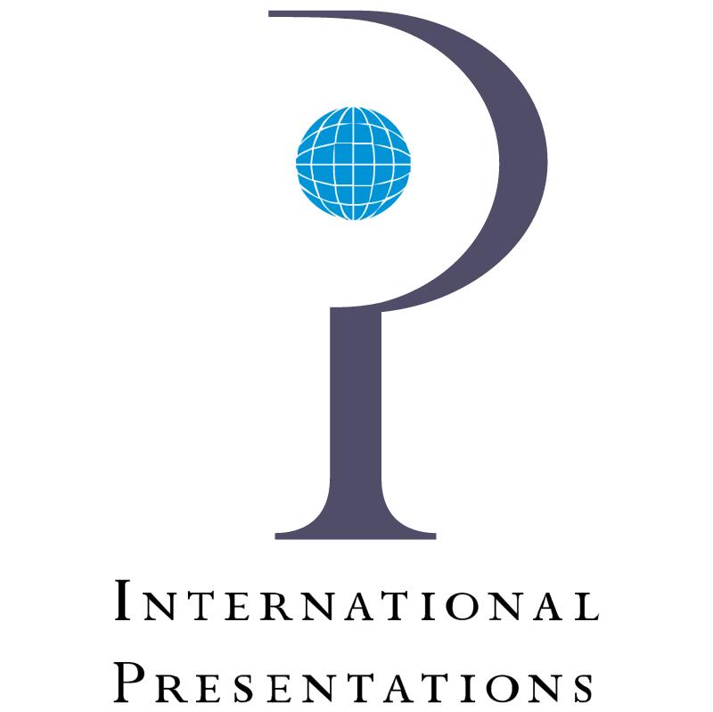 International Presentations vector