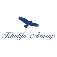 Khalifa Airways vector