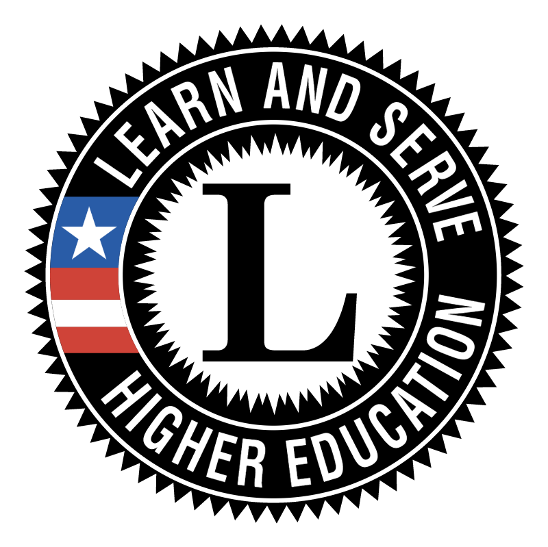 Learn and Serve America Higher Education vector