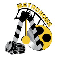 Metronome Productions vector