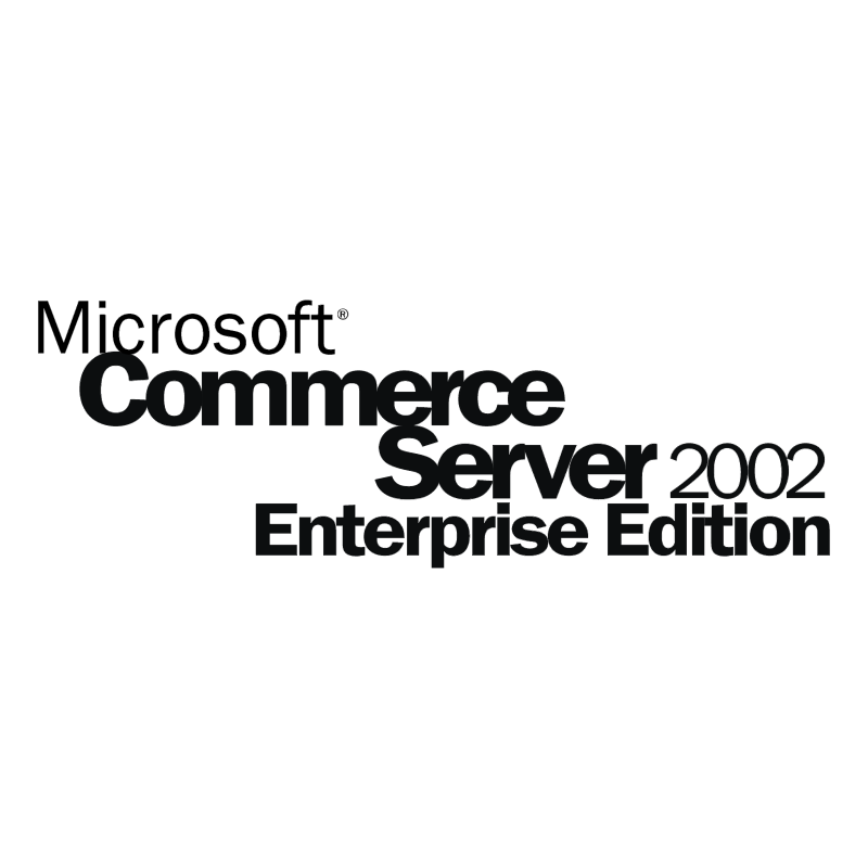 Microsoft Commerce Server 2002 vector