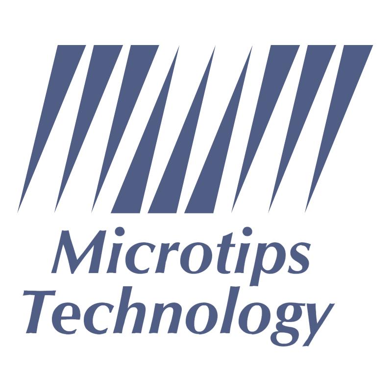 Microtips Technology vector