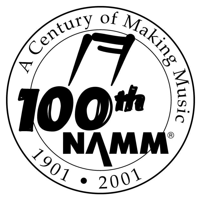 NAMM 100th vector