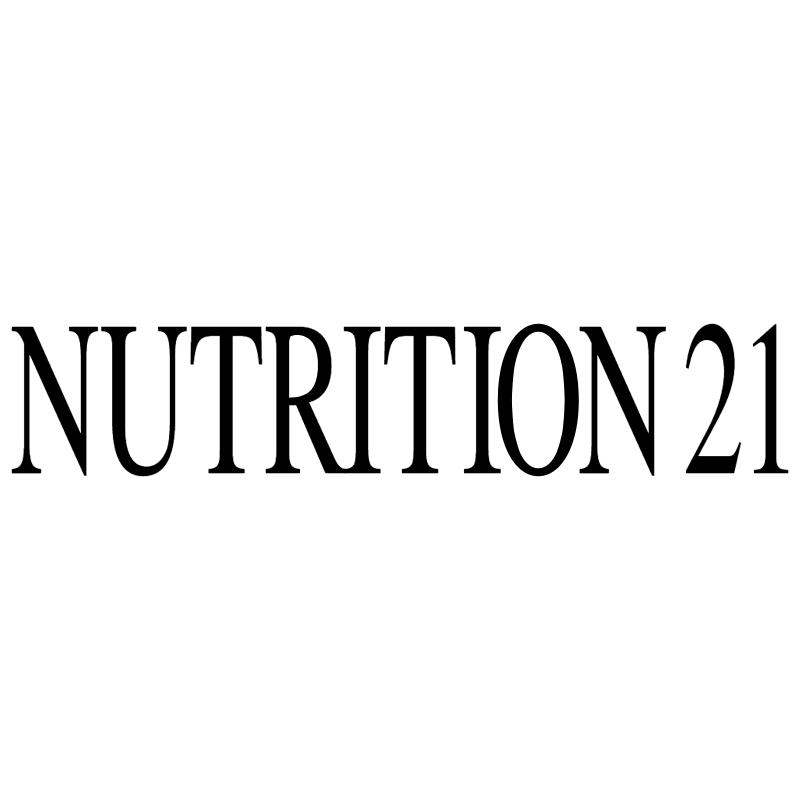 Nutrition 21 vector logo