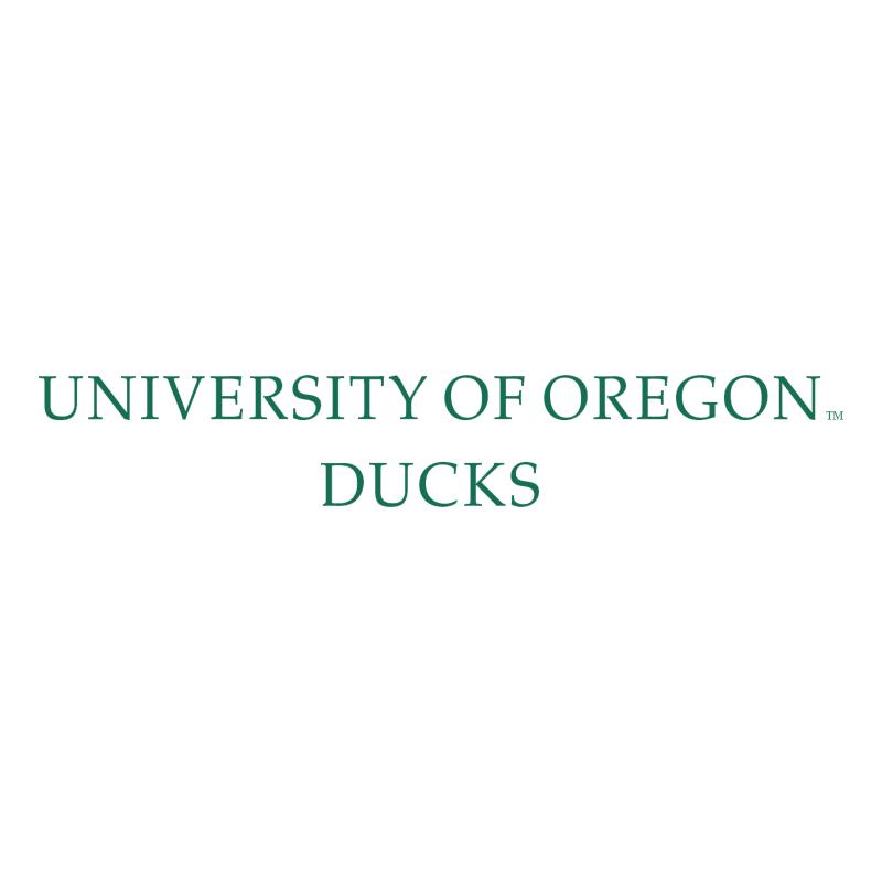 Oregon Ducks vector logo