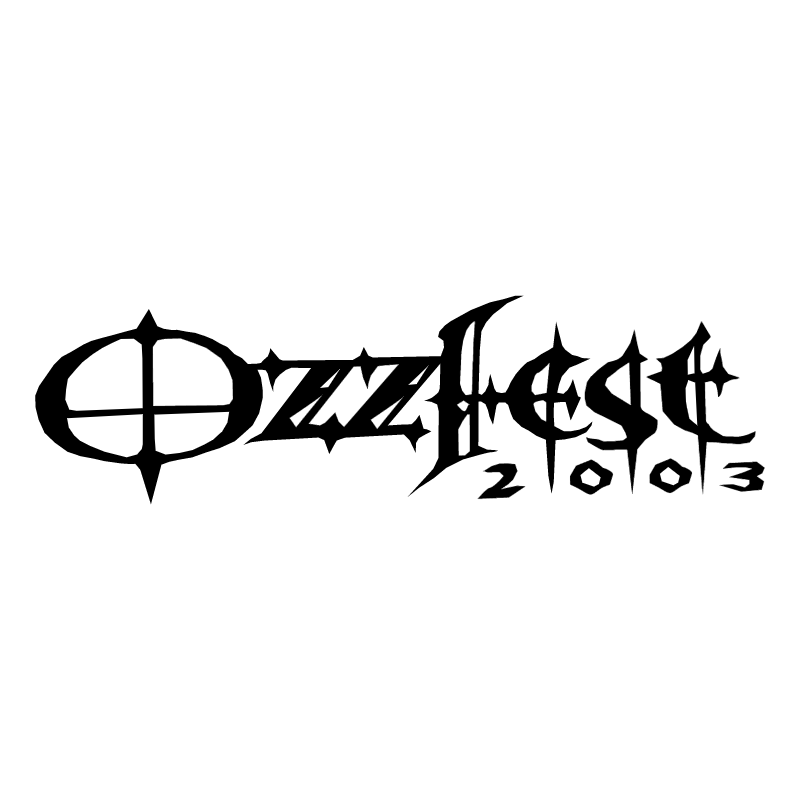 Ozzfest 2003 vector