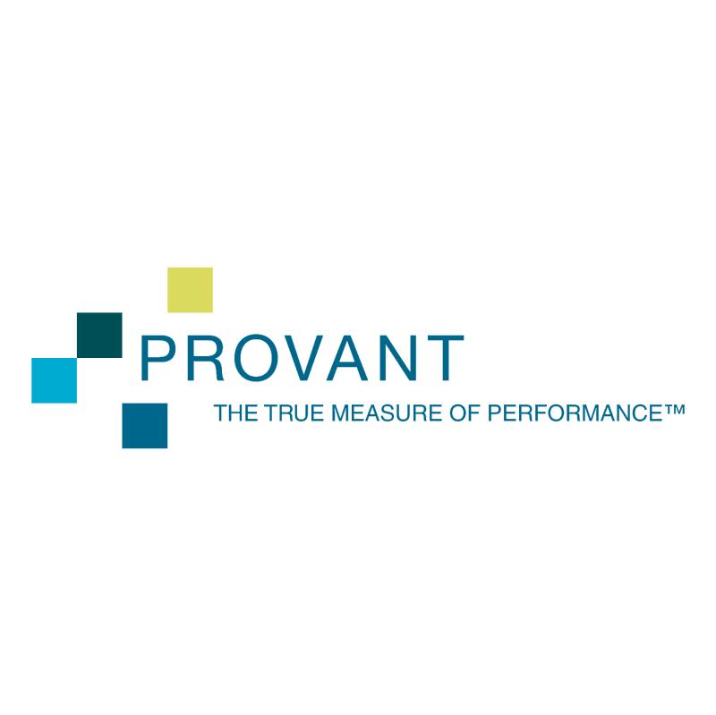 Provant vector logo