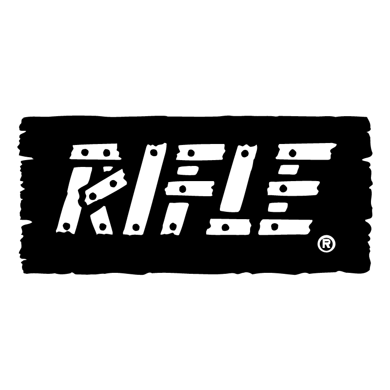 Rifle vector logo