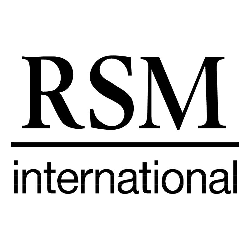 RSM International vector