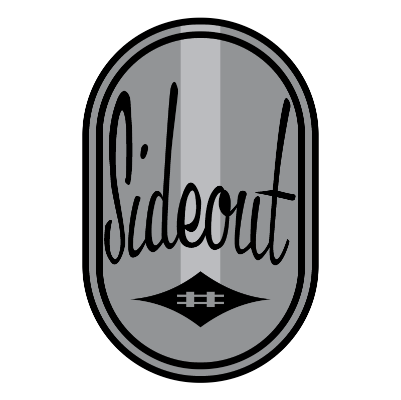 Sideout vector logo