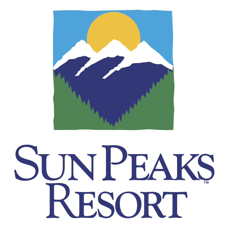 Sun Peaks Resort vector