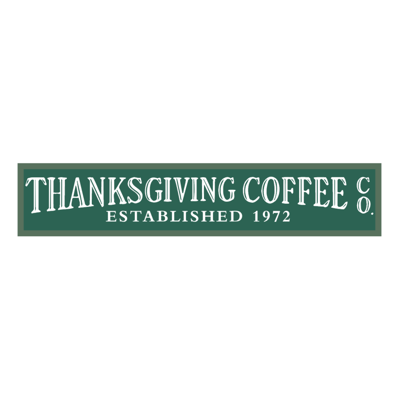 Thanksgiving Coffee vector