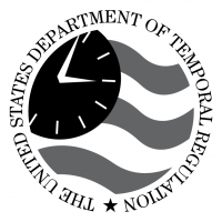 The United States Department of Temporal Regulation vector