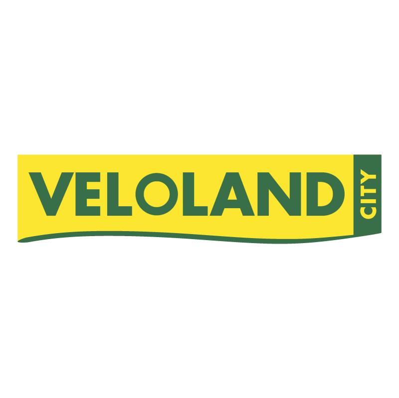 Veloland City vector logo