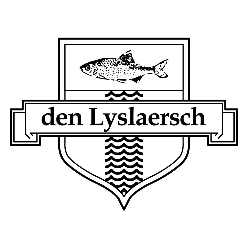 Visch Onder Vereeniging den Lyslaersch vector