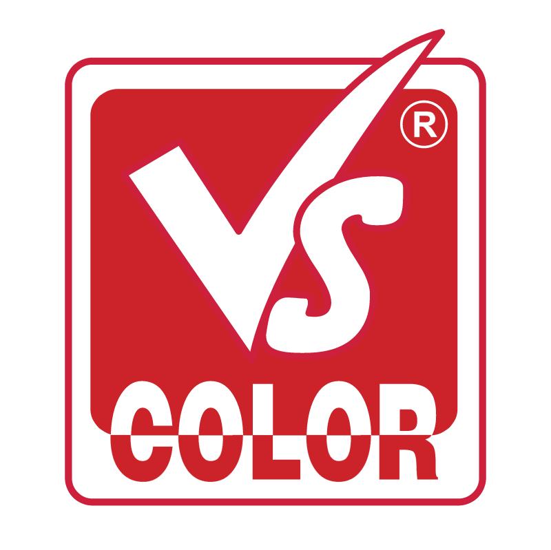 VS Color vector logo
