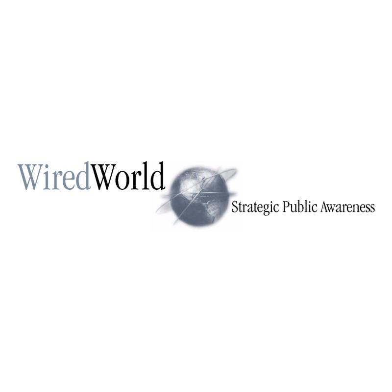 WiredWorlds vector logo
