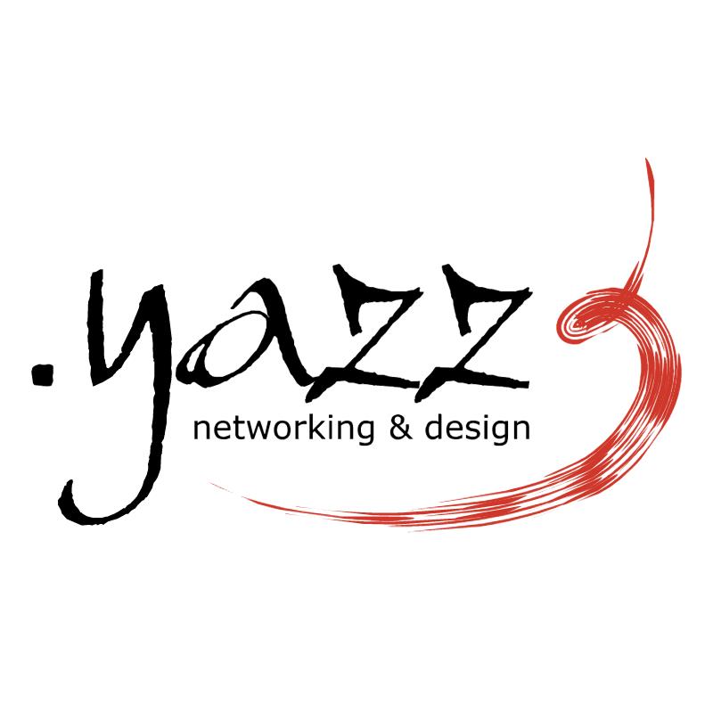 Yazz Networking & Design vector logo