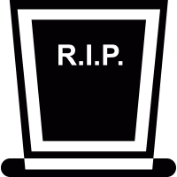 Rip Headstone vector