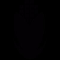 Geometrical corn cob vector