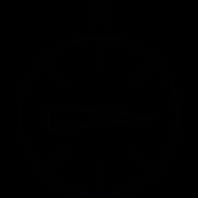 East, IOS 7 interface symbol vector logo