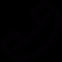 Phone handle vector