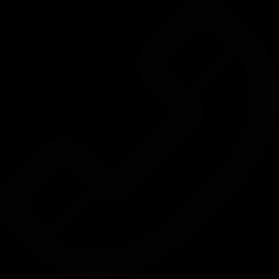 Phone handle vector logo