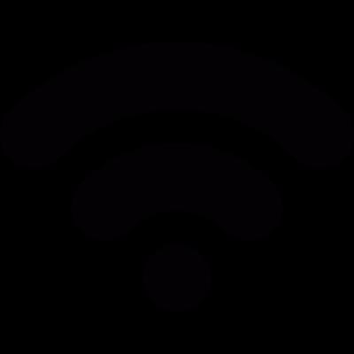 WIFI signal level vector logo
