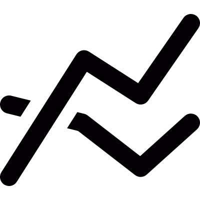 Electric shock vector logo