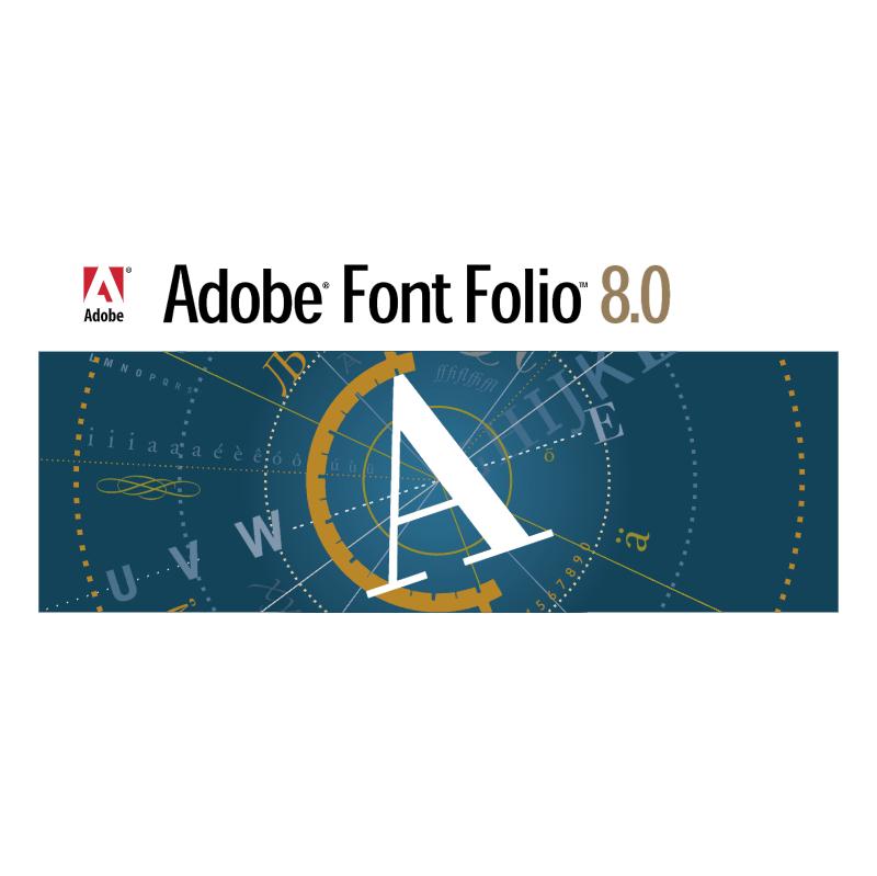 Adobe Font Folio vector