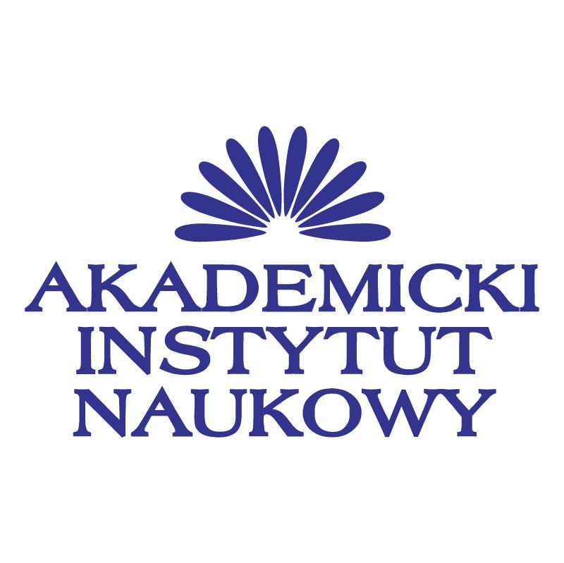 Akademicki Instytut Naukowy vector