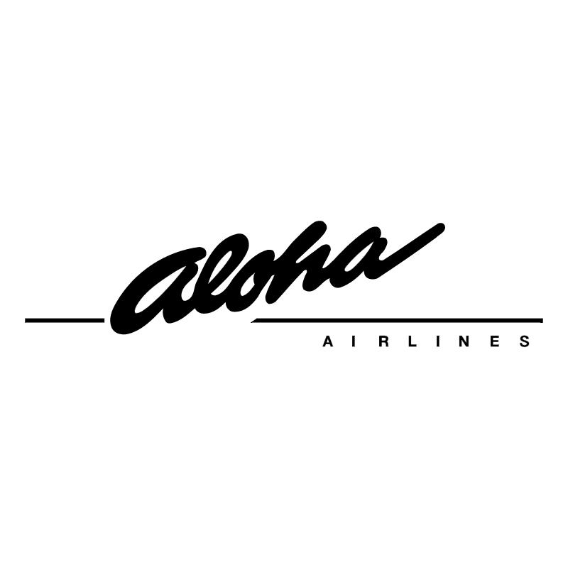 Aloha Airlines vector logo