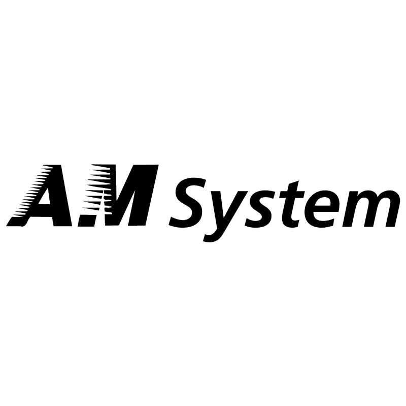 AM System vector logo
