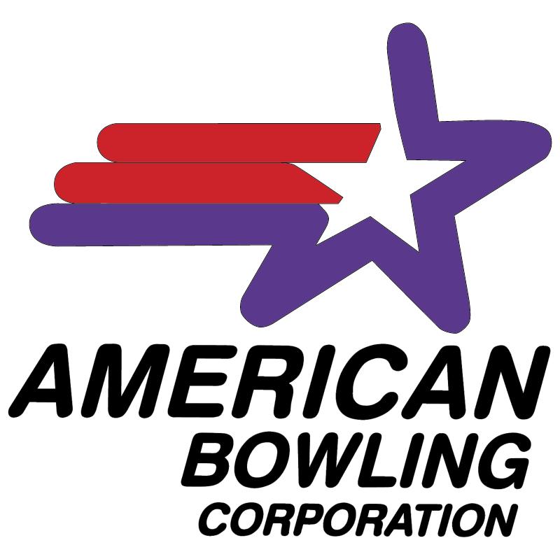 American Bowling vector