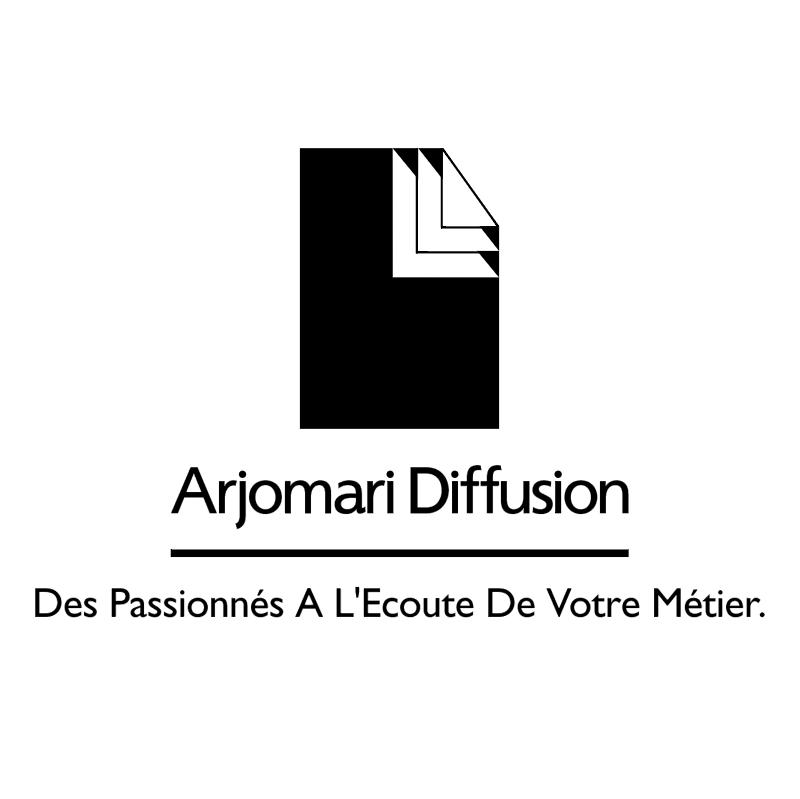 Arjomari Diffusion vector logo